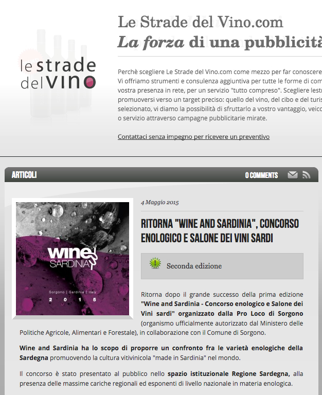 WandS press 2015 - strade del vino