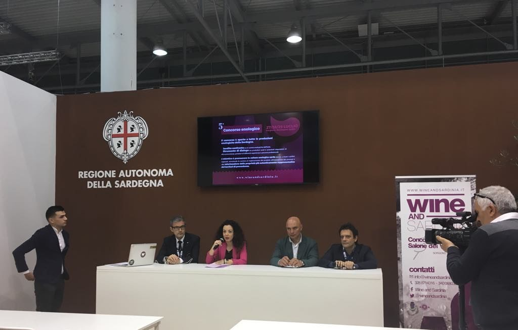 Wine and sardinia Vinitaly 2018